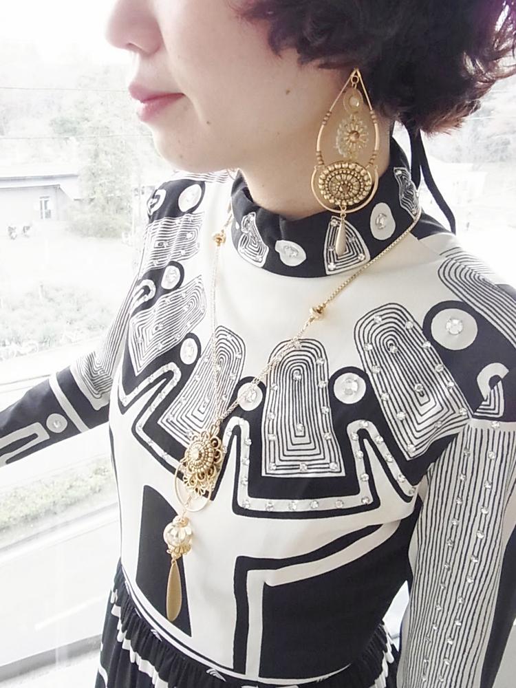ドレス モノトーン3